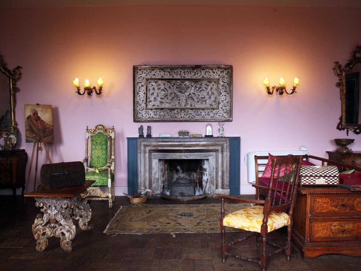 interno di Casa Cuseni a taormina