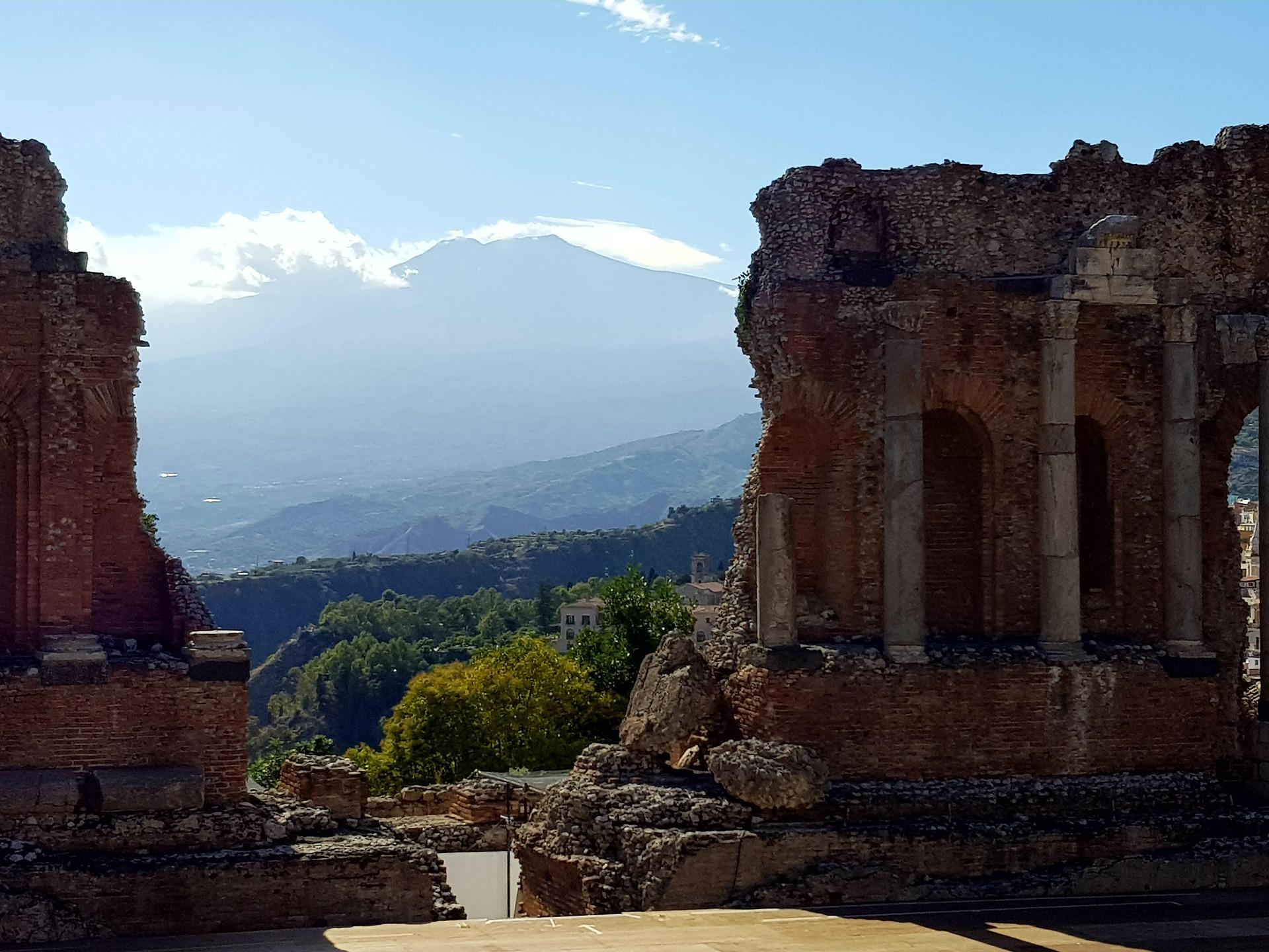 antico teatro greco di taormina