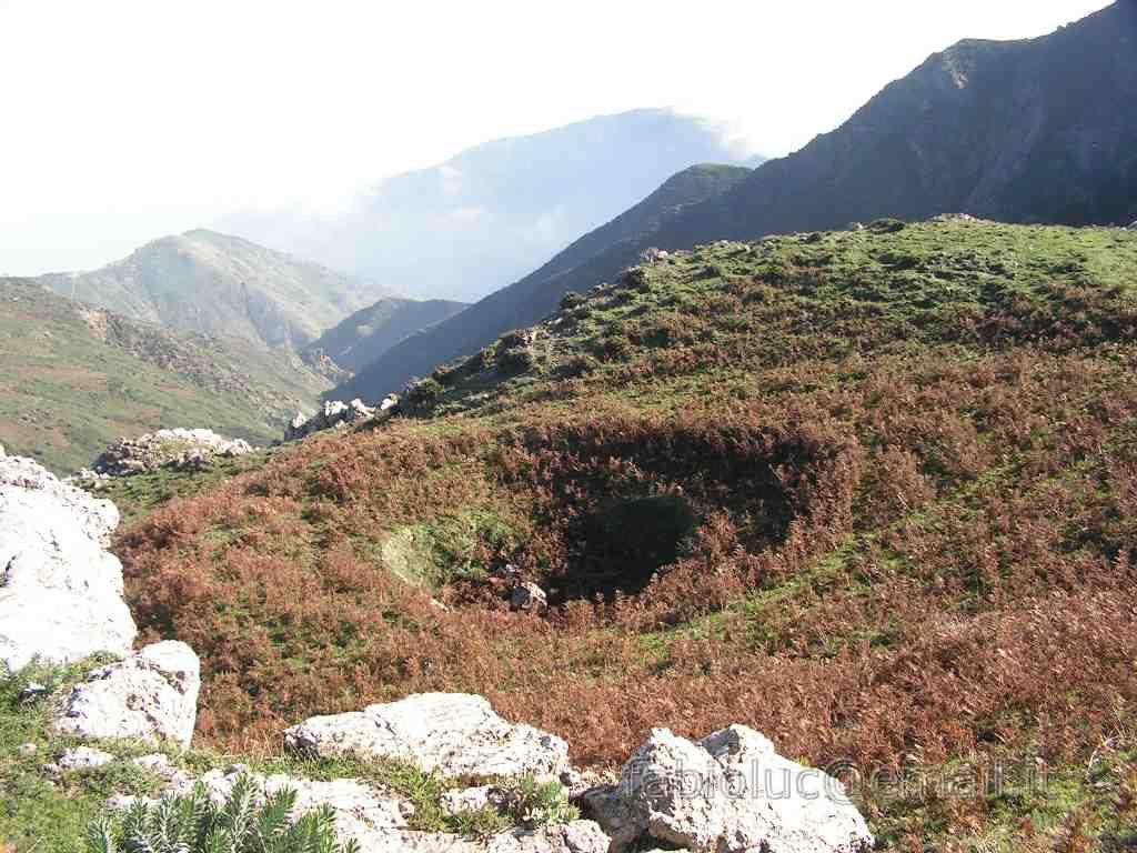 neviera sul monte scuderi in sicilia