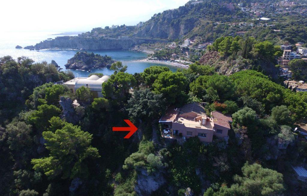 villa sulla montagna in sicilia