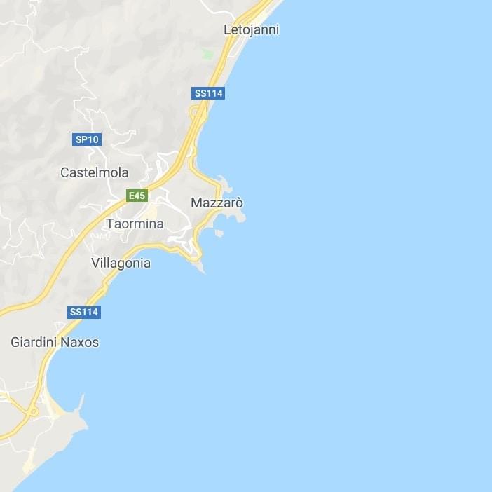 mappa riviera ionica