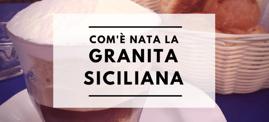 granita siciliana con brioche